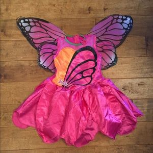 Other - Girls Barbie butterfly costume